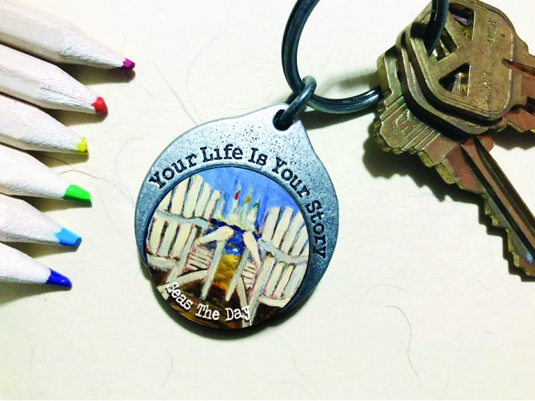 Story Coin Inspirational Keychain by the StoryCoin - 6