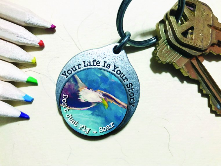 Story Coin Inspirational Keychain by the StoryCoin - 8