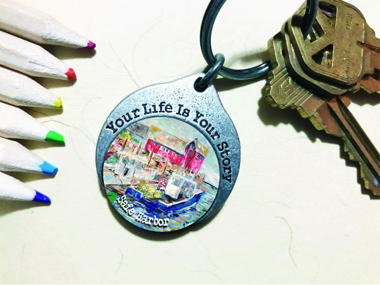 Story Coin Inspirational Keychain by the StoryCoin - 9