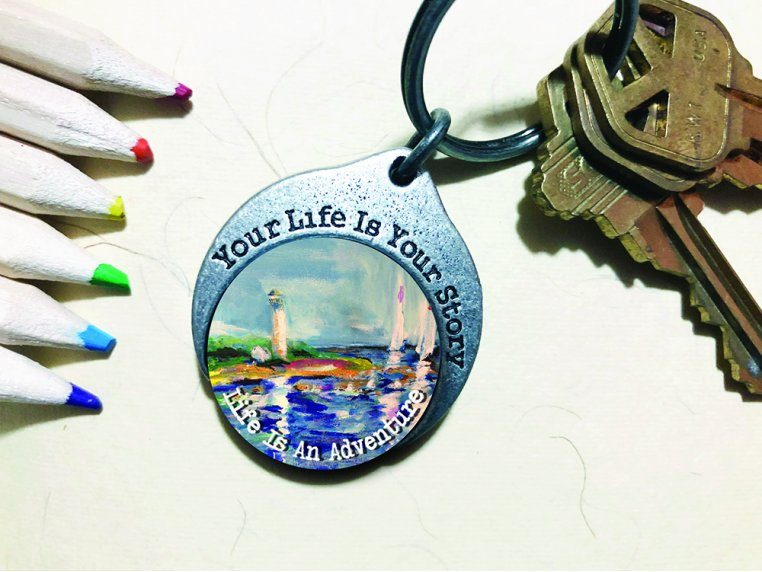 Story Coin Inspirational Keychain by the StoryCoin - 10