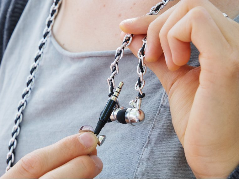 Loopit Tangle-Free Earbud Necklace by re.design - 6