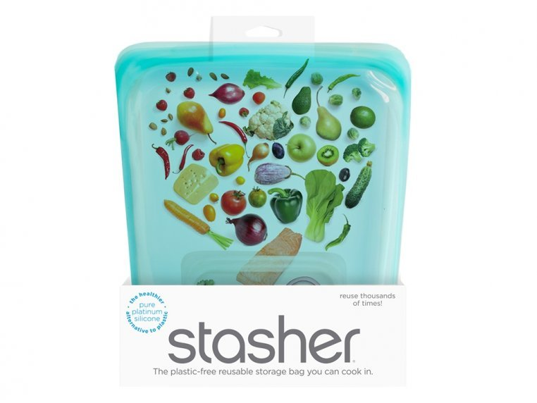 Silicone Half Gallon Bag by stasher - 6