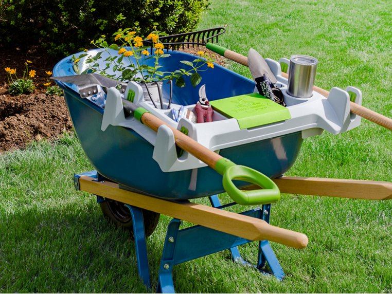 Wheelbarrow Organization Shelf - Small by Little Burros - 1