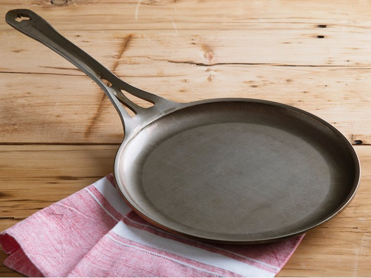 "AUS-ION Steel 9"" Crepe Pan by SOLIDTEKNICS - 3"