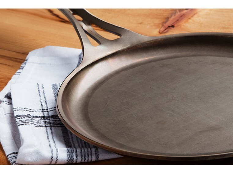 "AUS-ION Steel 9"" Crepe Pan by SOLIDTEKNICS - 4"