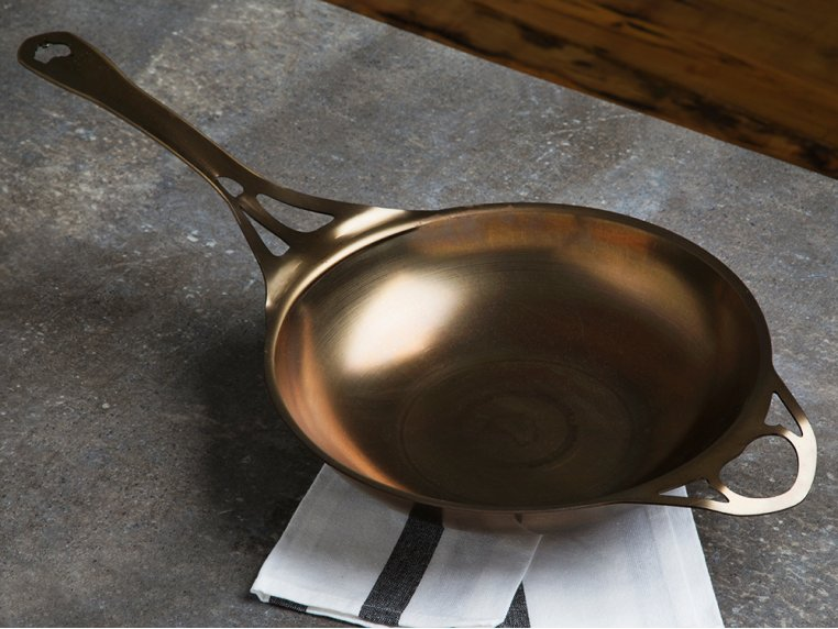 "AUS-ION Steel 11"" Wok by SOLIDTEKNICS - 3"