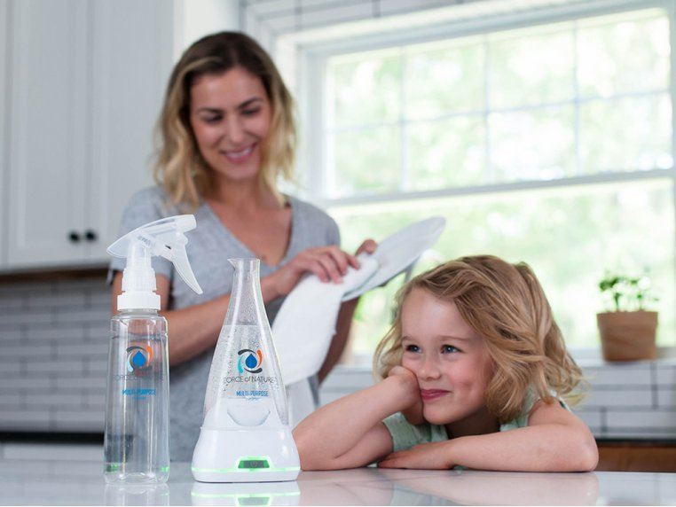 Multi-Purpose Cleaner & Sanitizer Starter Kit by Force of Nature - 1