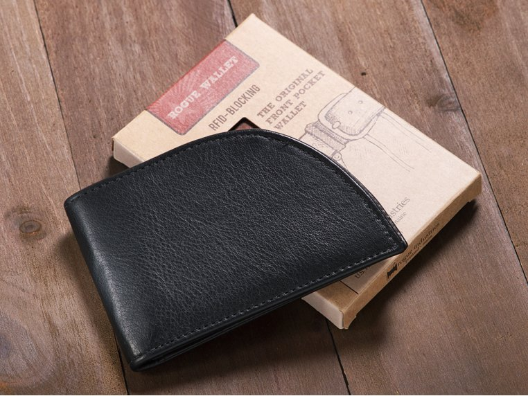Bison Leather Front Pocket Wallet by Rogue Industries - 2