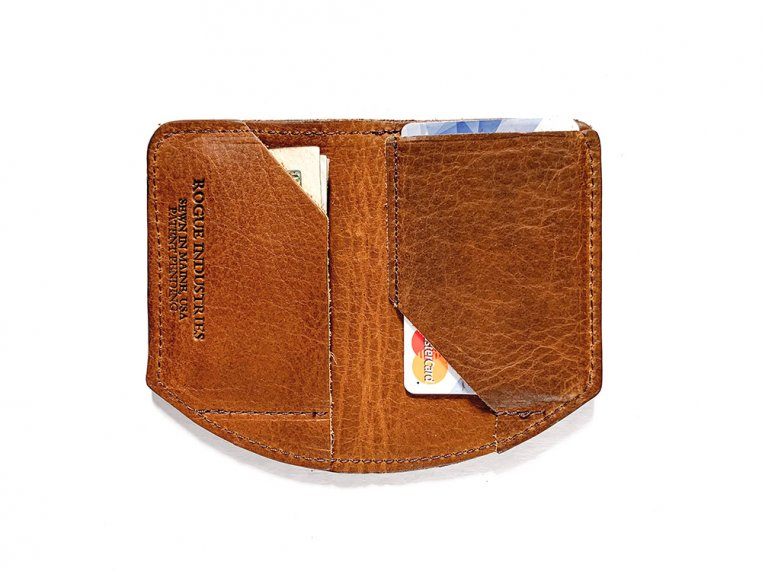 Bison Leather Minimalist Wallet by Rogue Industries - 2