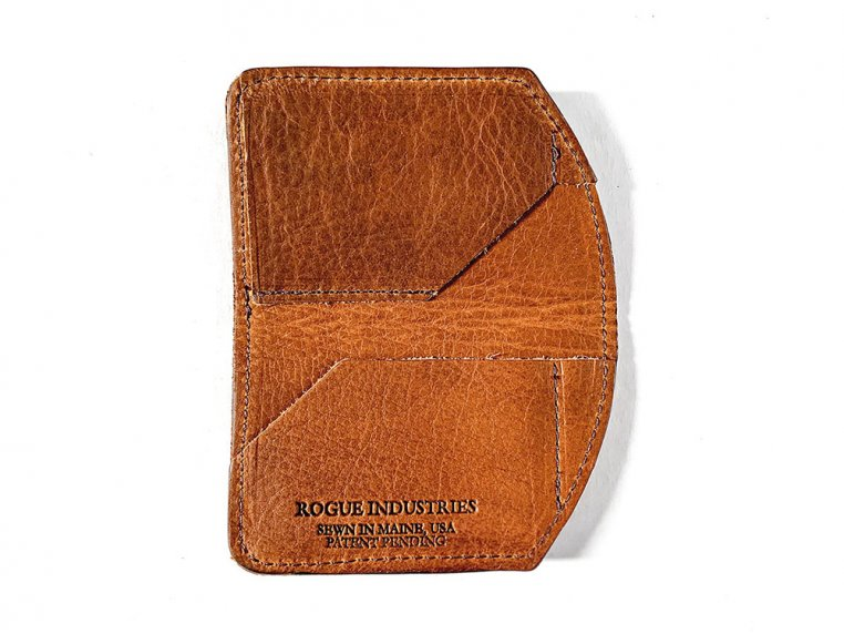 Bison Leather Minimalist Wallet by Rogue Industries - 3