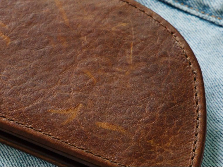 Moose Leather Front Pocket Wallet by Rogue Industries - 4