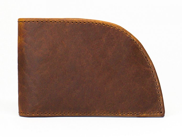 Bison Leather Front Pocket Wallet by Rogue Industries - 7
