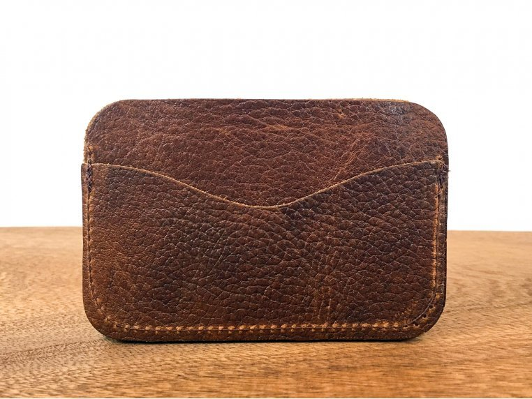 Bison Leather Card Case by Rogue Industries - 4