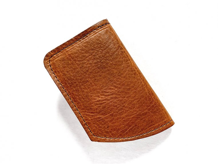 Bison Leather Minimalist Wallet by Rogue Industries - 4