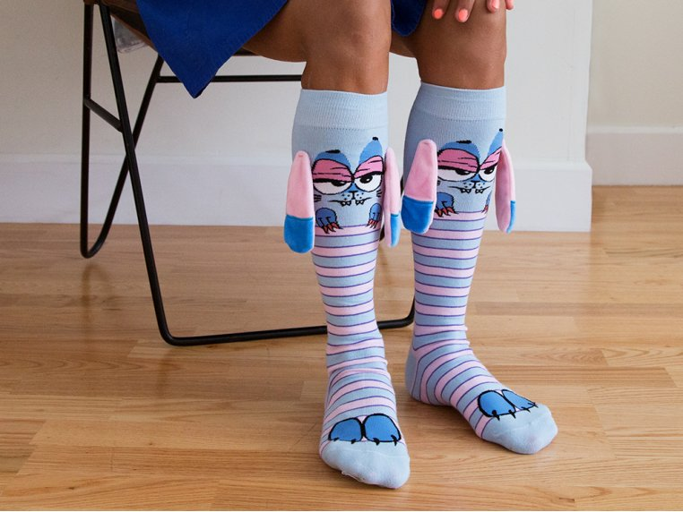 Knee High Character Socks by MooshWalks - 4