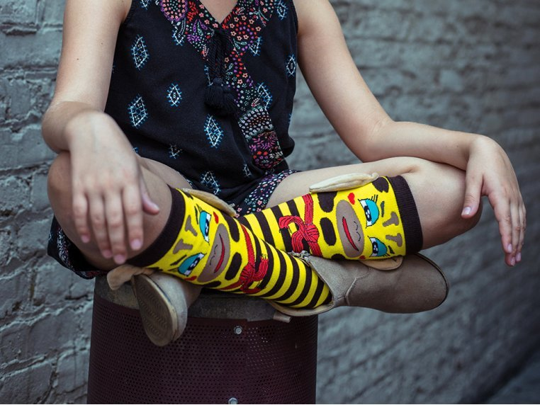 Kid's Knee High Character Socks by MooshWalks - 2
