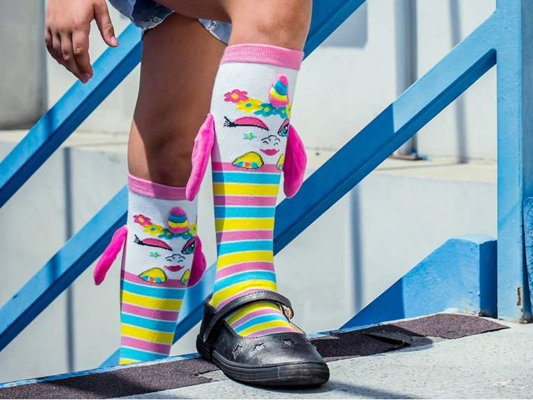 Kid's Knee High Character Socks by MooshWalks - 1