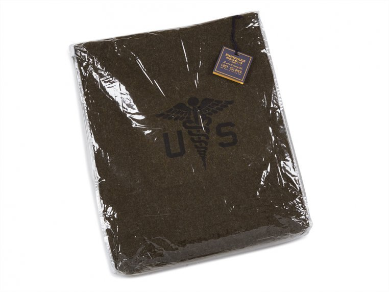 Foot Soldier Military Wool Blanket by Faribault - 5