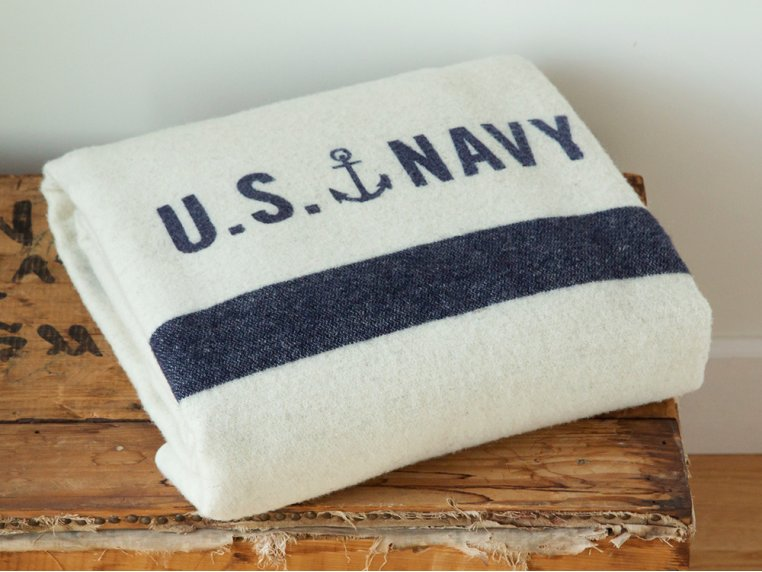 Foot Soldier Military Wool Blanket by Faribault - 1