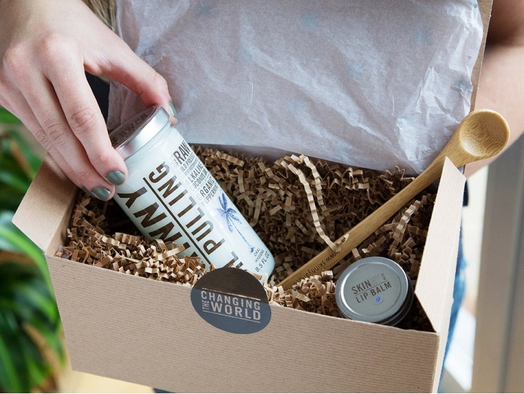 Peppermint Oil Pulling Kit by Skinny & Co. - 2