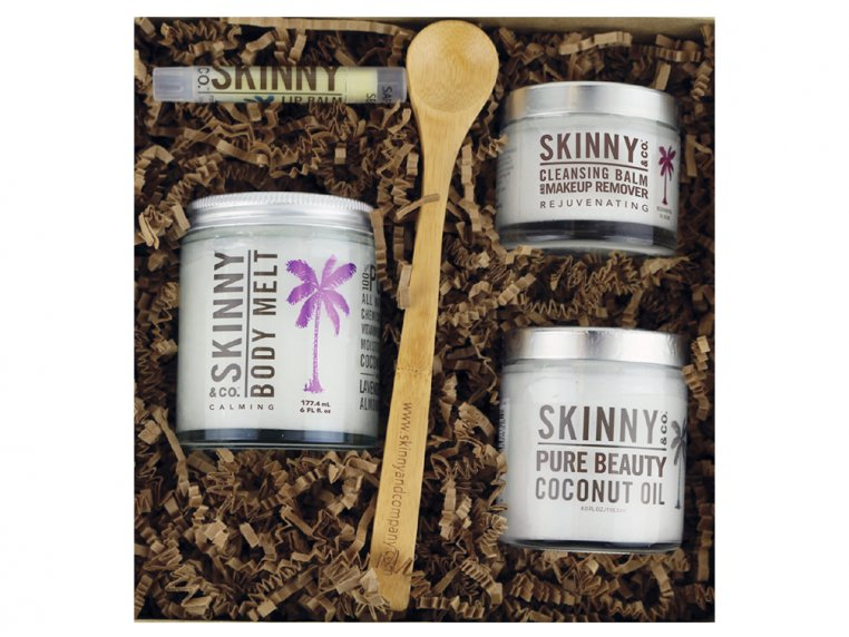 Premium Raw Coconut Oil Beauty Box by Skinny & Co. - 3