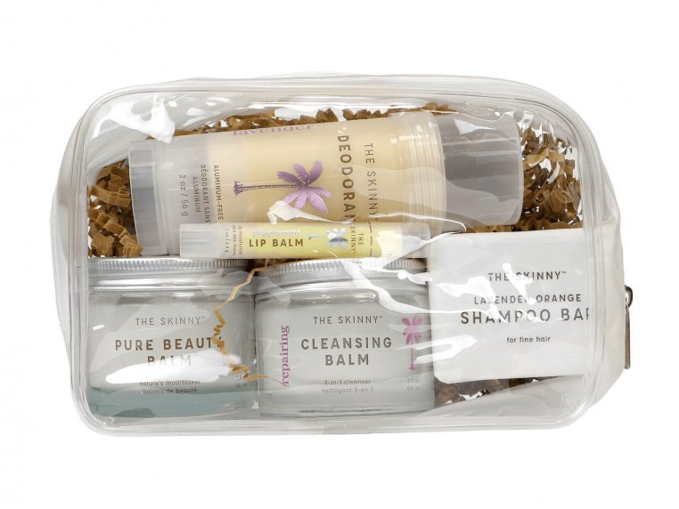 Raw Coconut Oil Beauty Travel Kit by The Skinny - 3