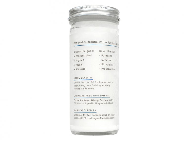 Nature's Coconut Oil Mouthwash by The Skinny - 3