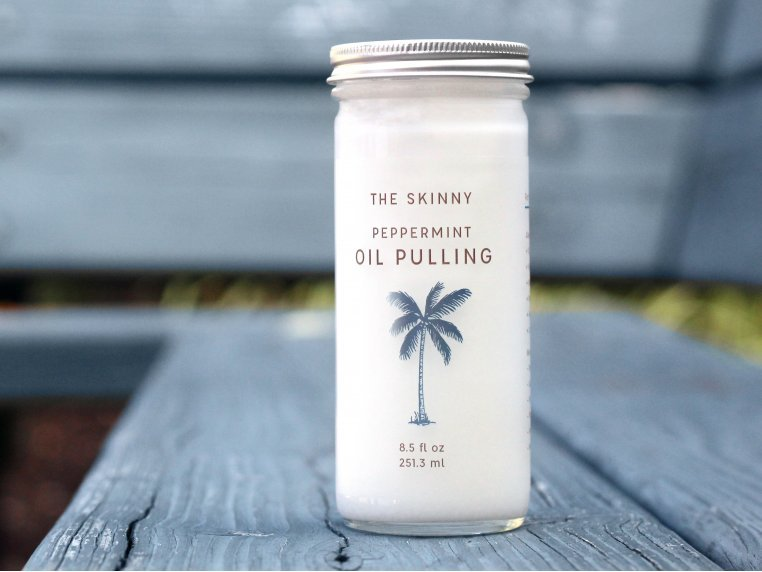 Nature's Coconut Oil Mouthwash by The Skinny - 1