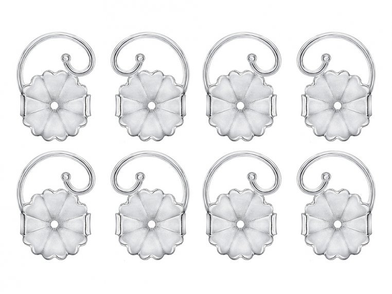 Anti-Droop Earring Lifts - Stainless Steel (Set of 4 Pairs) by Levears - 6