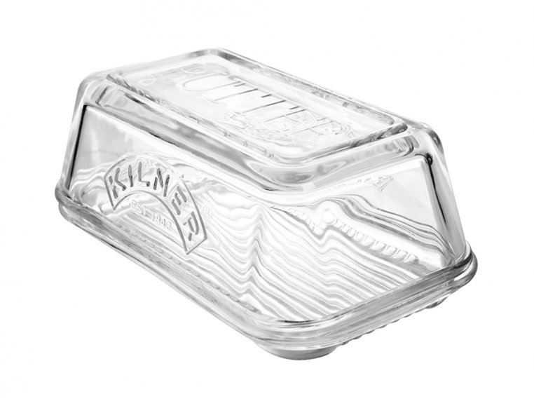 Glass Butter Dish by Kilner - 4