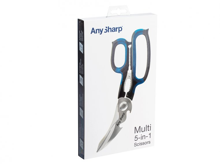 5-in-1 Steel Scissors by AnySharp - 8