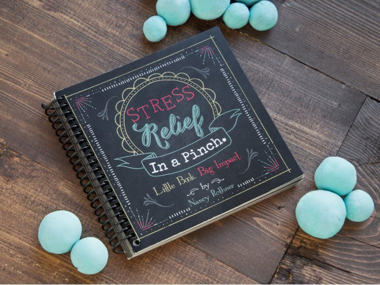 Stress Relief In A Pinch Book by Pinch Me - 1
