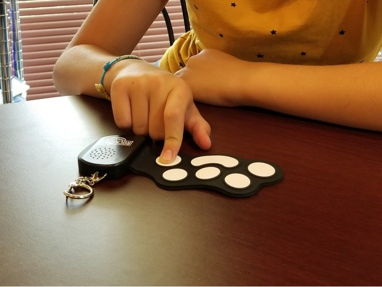 Tiny Roll Up Portable Toy Instrument by Rock and Roll It - 2