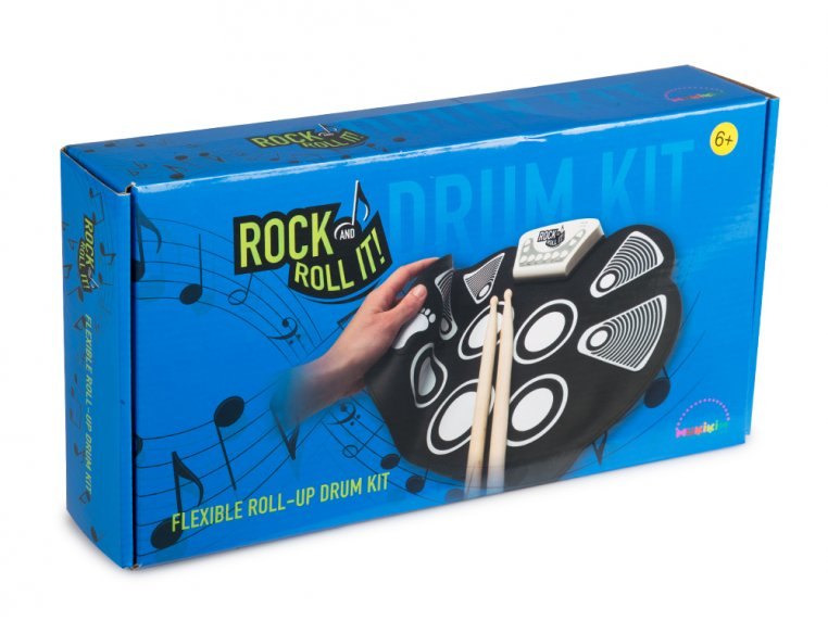 Flexible Roll-Up Drum Kit by Rock And Roll It - 5