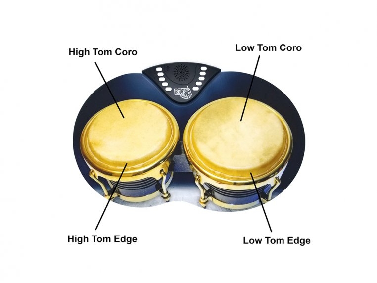 Flexible Roll-Up Bongos by Rock And Roll It - 4