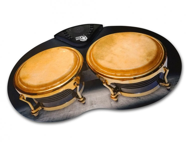 Flexible Roll-Up Bongos by Rock And Roll It - 6