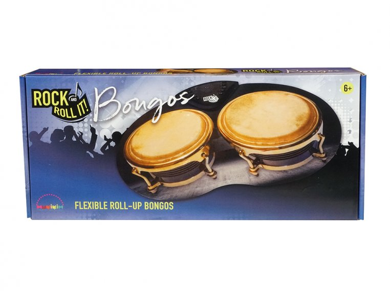 Flexible Roll-Up Bongos by Rock And Roll It - 7