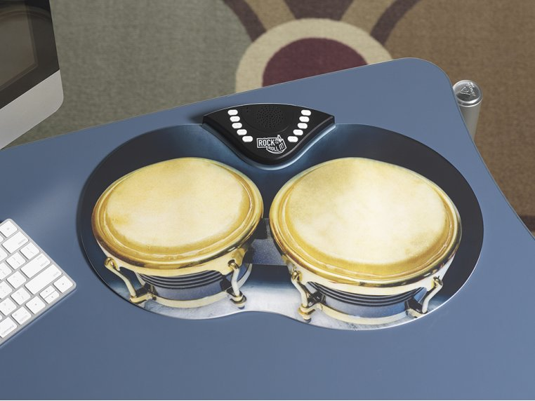 Flexible Roll-Up Bongos by Rock And Roll It - 1