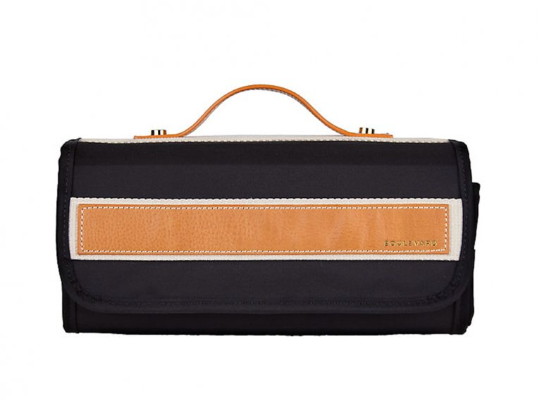 Delilah Toiletry Roll - Black by Boulevard - 3