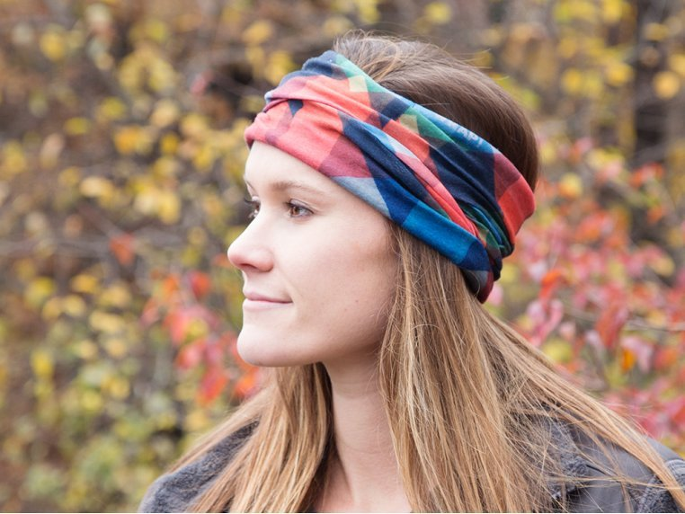 Multi-Way Head Wrap by WRAP! - 2