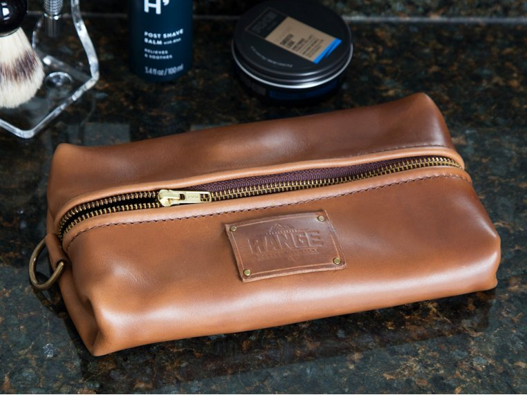 Travellr Dopp Case by Range Leather Co. - 1