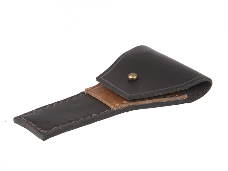 Safety Razor Case - Black by Range Leather Co. - 2