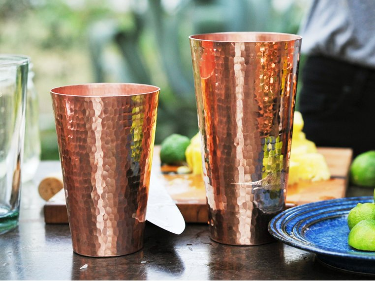 Copper Marakan Shaker Set by Sertodo Copper - 1