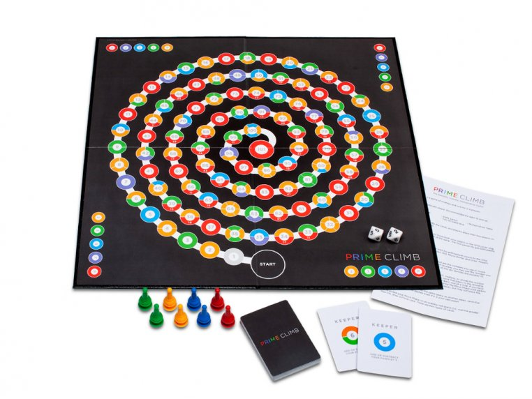 Prime Climb Board Game by Math for Love - 5