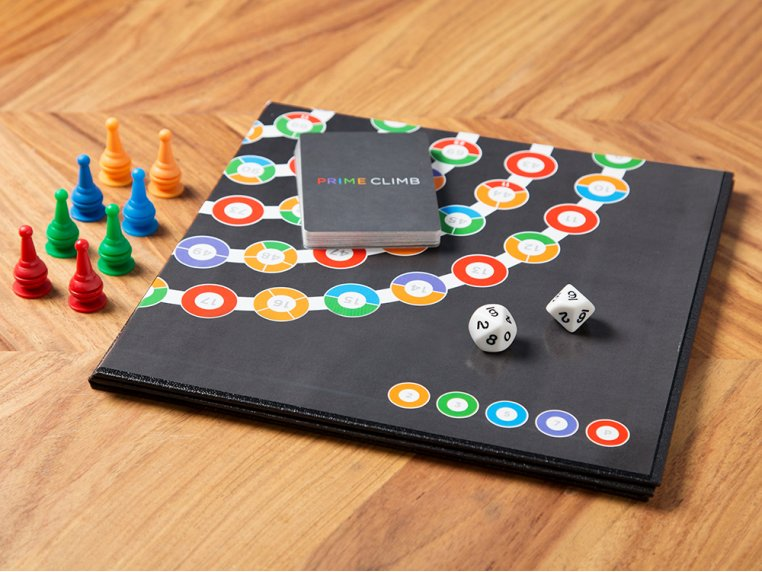 Prime Climb Board Game by Math for Love - 1