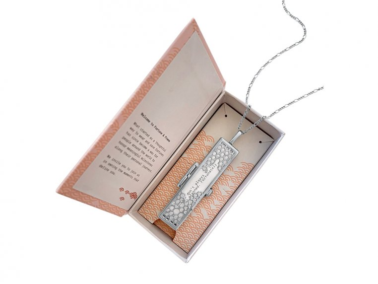 Honeycomb Fortune Locket by Fortune & Frame - 3