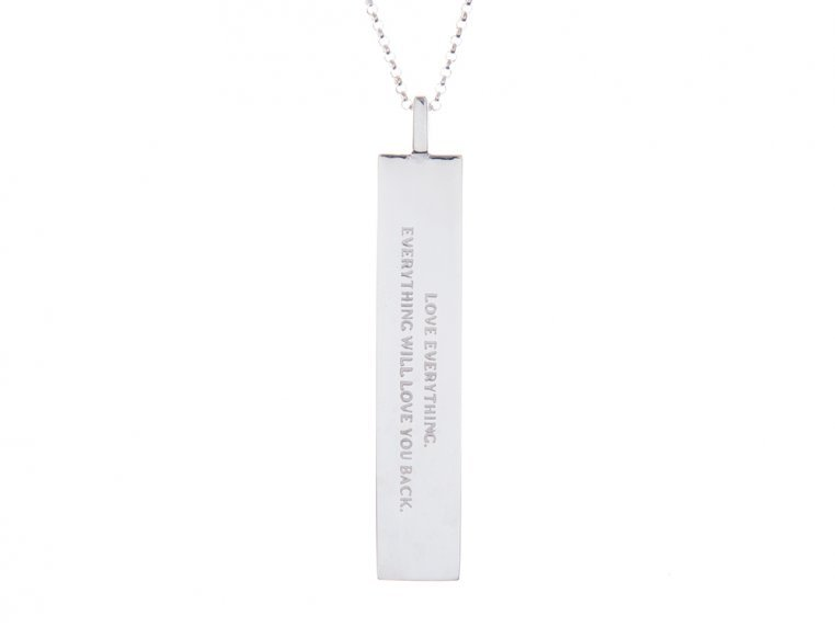 Fortune Pendant with Quote by Fortune & Frame - 13
