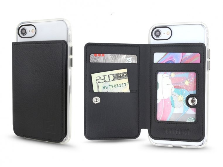 Universal Stick-On Cell Phone Wallet by Gear Beast - 3