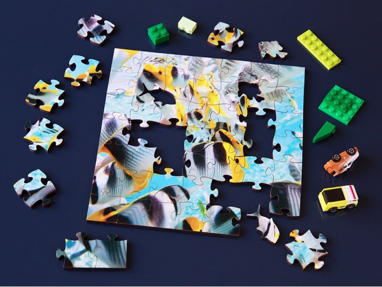 Children's Wooden Jigsaw Puzzle by Zen Art & Design - 2