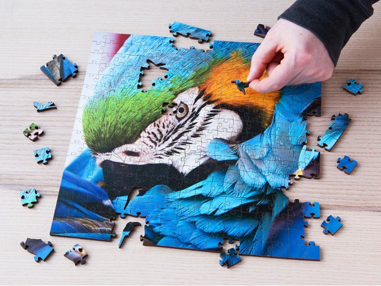 Large Wooden Jigsaw Puzzle by Zen Art & Design - 2